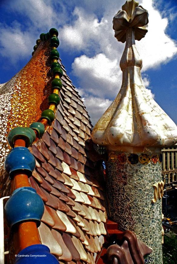Casa Batlló. Barcelona. Cataluña.