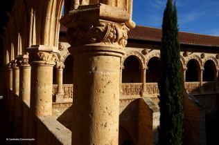 Monasterio de Santa Maria de Valbuena. San Bernardo. Valladolid. Castilla y León.