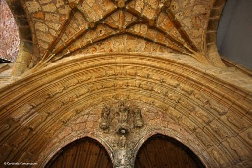Iglesia de San Juan Bautista. Oña. Burgos. Castilla y León.