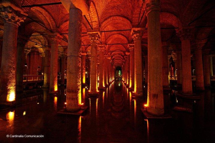 Cisterna romana de Yerebatan. Estambul. Turquia.