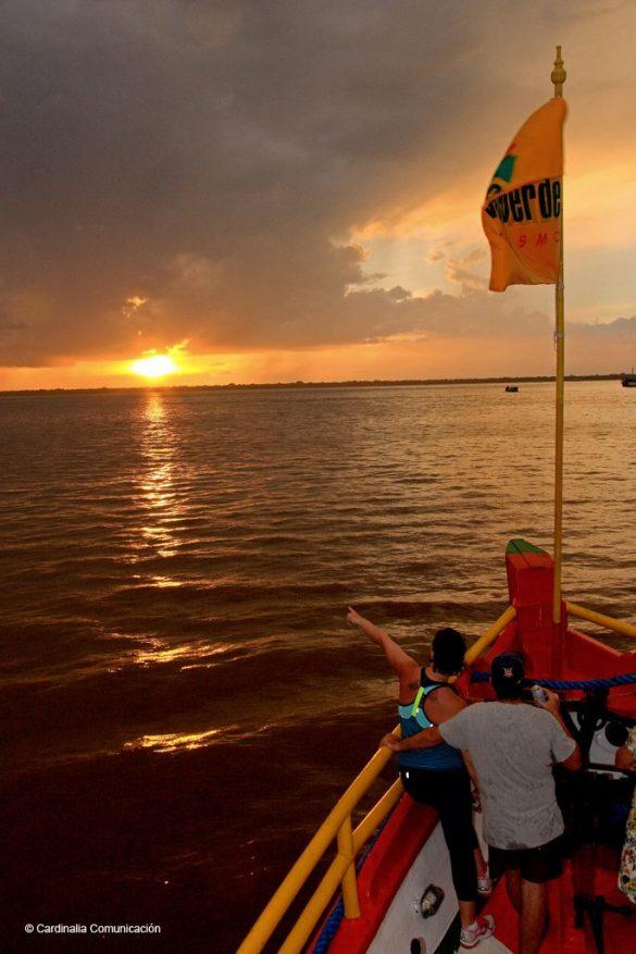 Río Guajará. Estado de Pará. Brasil.