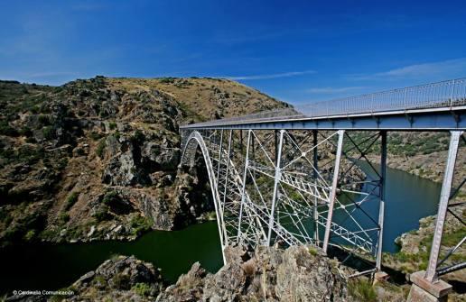 Puente de Requejo. Parque Natural de los Arribes del Duero. Zamora. Castilla y León.